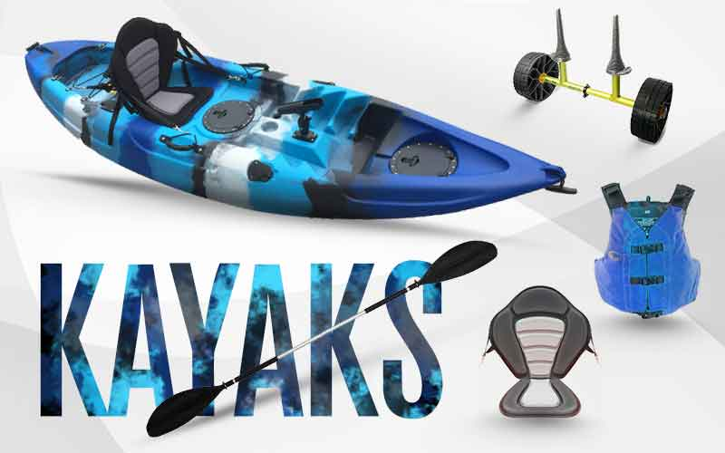 fishing kayak, kayaks